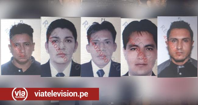 Dictan 15 meses de prisión preventiva para cinco ciudadanos por tráfico ilícito de drogas
