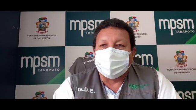 Municipalidad Provincial de San Martín continuará reordenando el comercio ambulatorio