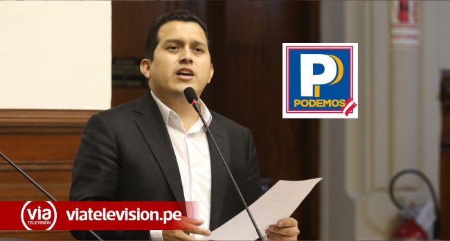 Fiscalía resolvió que inscripción de Podemos Perú fue legítima y transparente