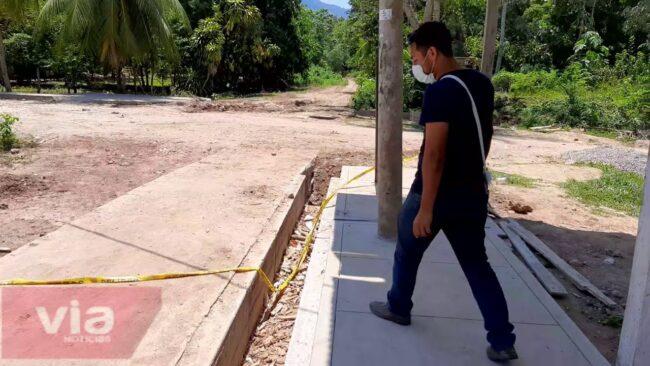 Presidente del Frente Cívico de Shapaja continúa cuestionando obras inconclusas en su distrito