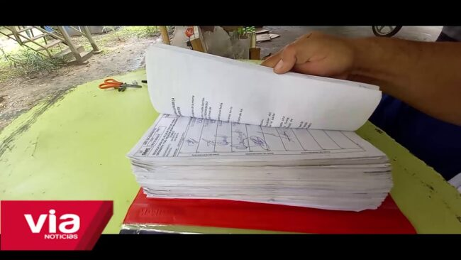 Continúan la recolección de firmas para el proceso de revocatoria del alcalde de Tarapoto