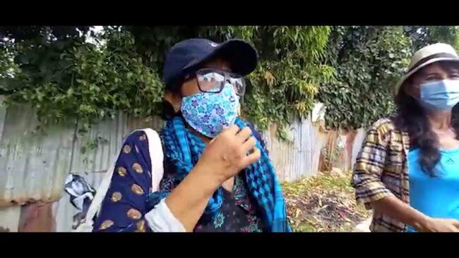 Vecinos del Jr. Martínez de Compagñón exigen mejoramiento de sus calles