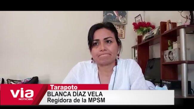 Regidora Blanca Díaz responde sobre el pedido de vacancia en su contra