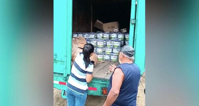 Tarapoto: PNP neutraliza robo de 70 mil soles  en productos de ferretería