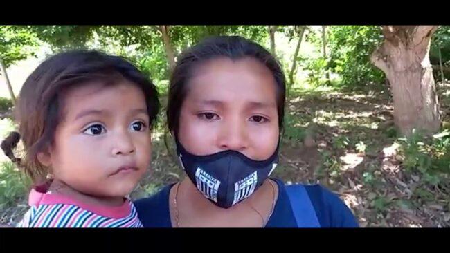 Tarapoto: brindan apoyo a joven madre de familia natural de Churuzapa
