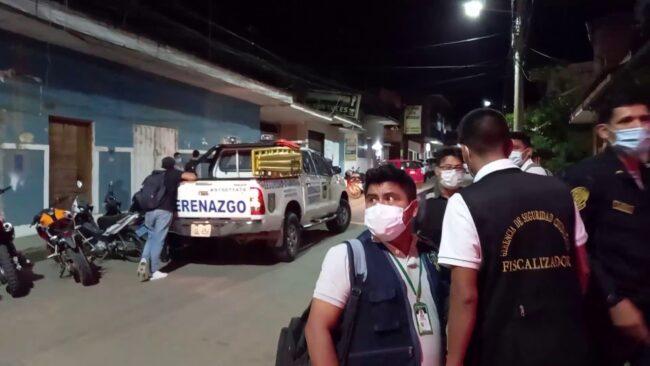 Tarapoto: PNP y serenazgo redoblarán operativos de prevención