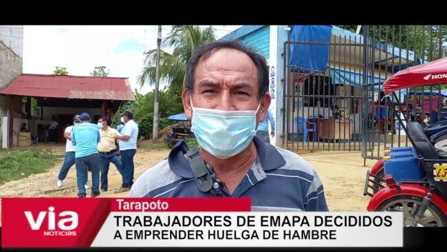 Trabajadores de EMAPA decididos  a emprender huelga de hambre