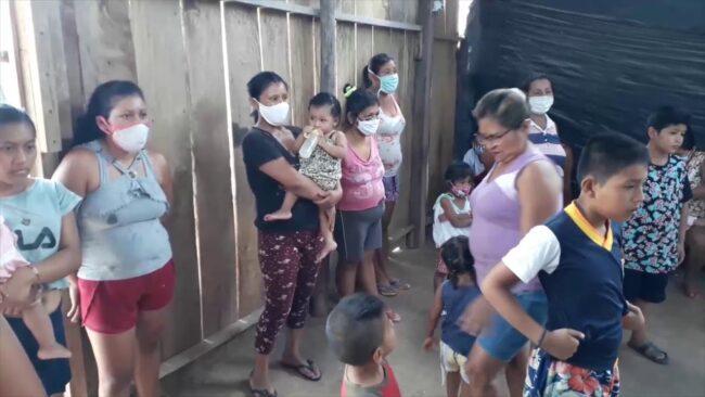 Brindan apoyo solidario a niños de la AA.VV Esperanza del Cumbaza