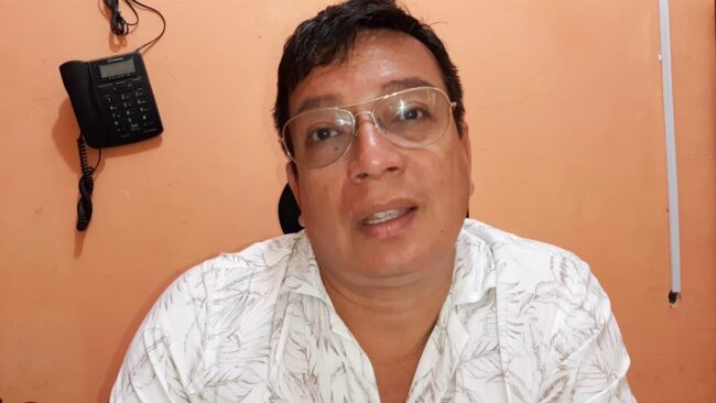 Director de I.E. CADELA solicita a GORESAM que construya jardín de niños