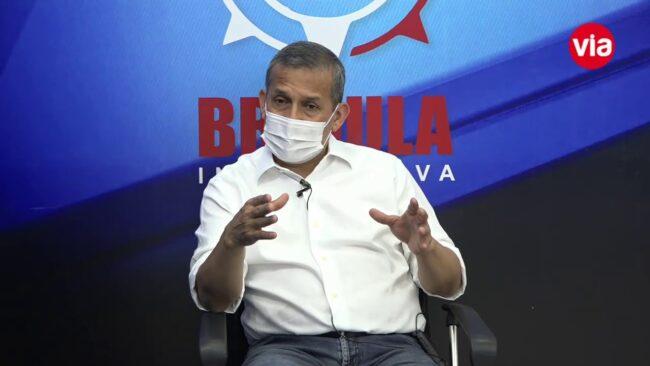 Ollanta Humala visita San Martín realizando campaña electoral
