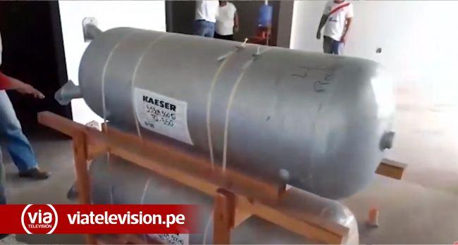 Llega planta de producción de oxígeno medicinal a Picota