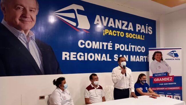 Partido político «Avanza País» apertura local en Tarapoto