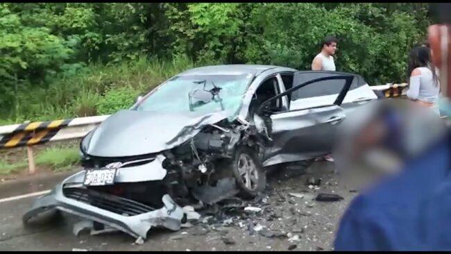 Picota: choque de autos deja un muerto y varios heridos