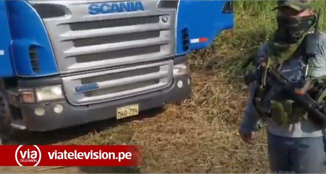 Yurimaguas: narcotraficantes abandonan camión con más de 26 kilos de droga
