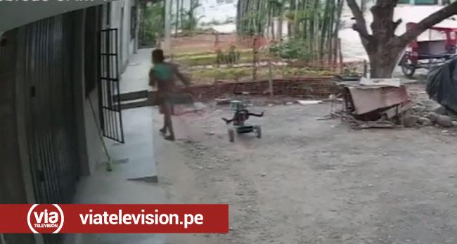 Tarapoto: sujetos ingresan a vivienda y hurtan aparatos tecnológicos