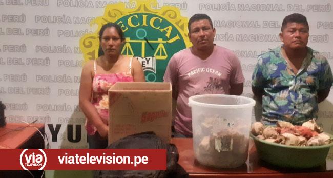 Yurimaguas: detienen a extranjeros por presunto tráfico ilícito de drogas