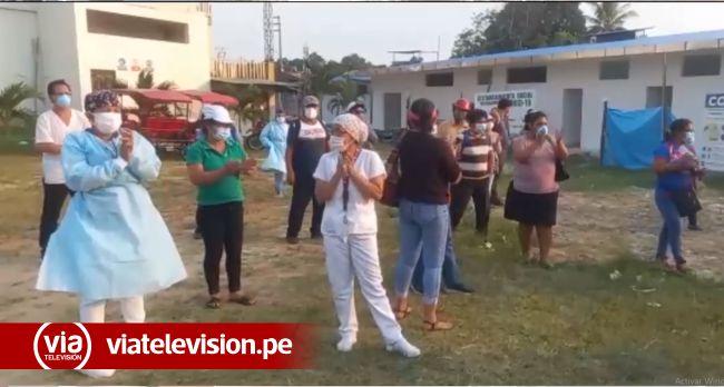 Trabajadores del centro de salud de Morales levantan su medida de fuerza