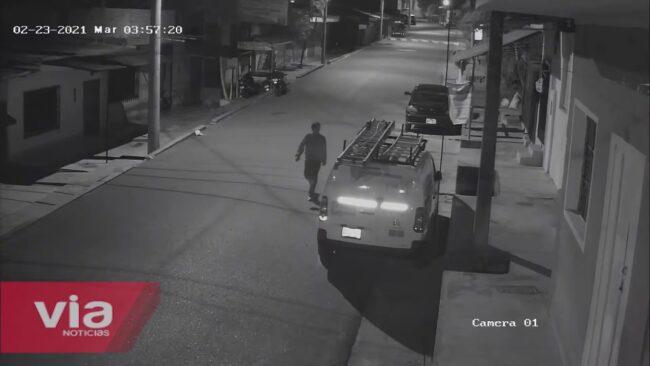 Tarapoto: cámara de vigilancia capta intento de hurto en jirón España