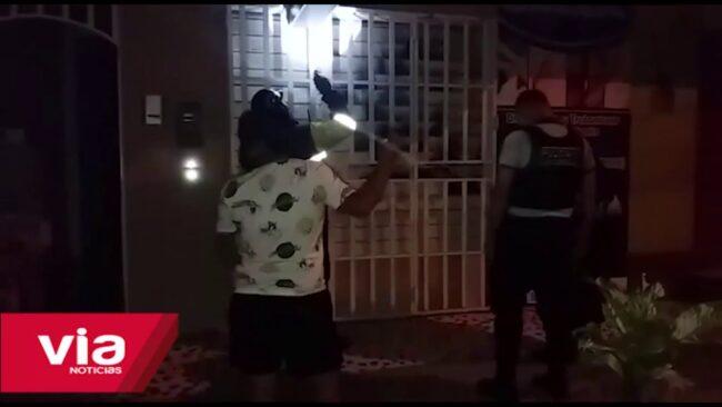 Por ataques de extorsión intentan incendiar vivienda con bomba molotov