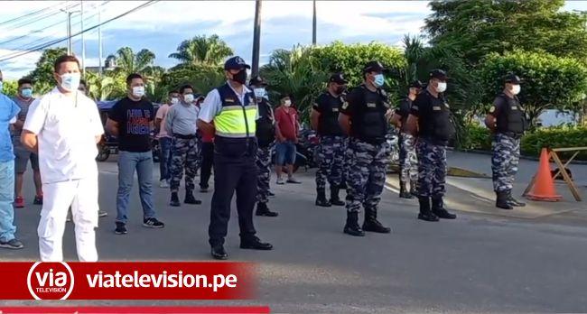 Autoridades reconocen trabajo de serenos de Tarapoto