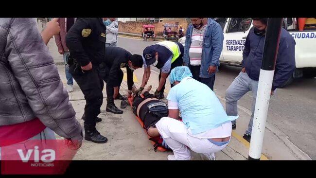 Tarapoto: ambulancia del serenazgo atendió más de 24 emergencias