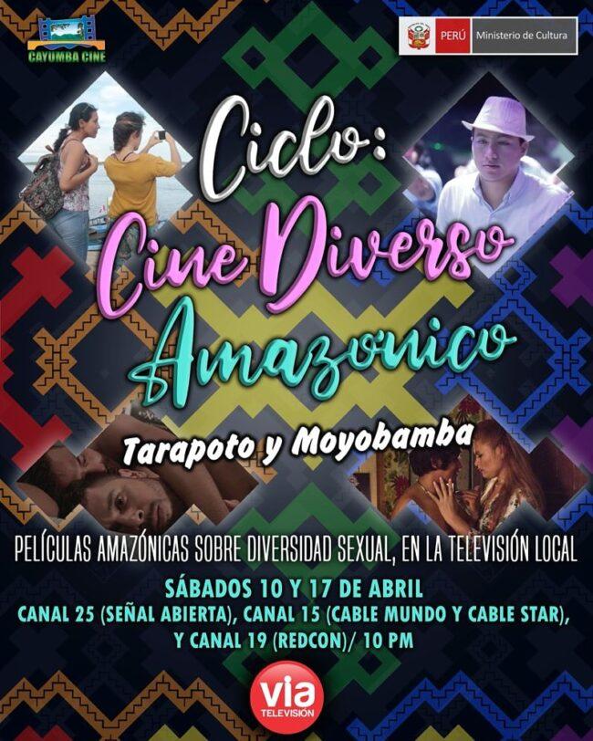 Ciclo: Cine Diverso Amazónico – Tarapoto y Moyobamba.