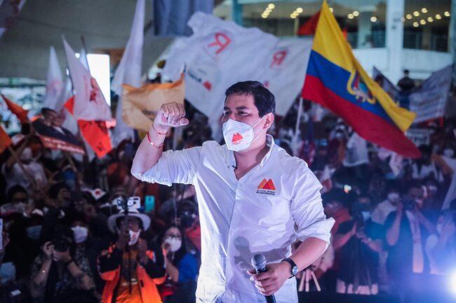 Andrés Arauz: el joven candidato presidencial que apuesta por la innovación