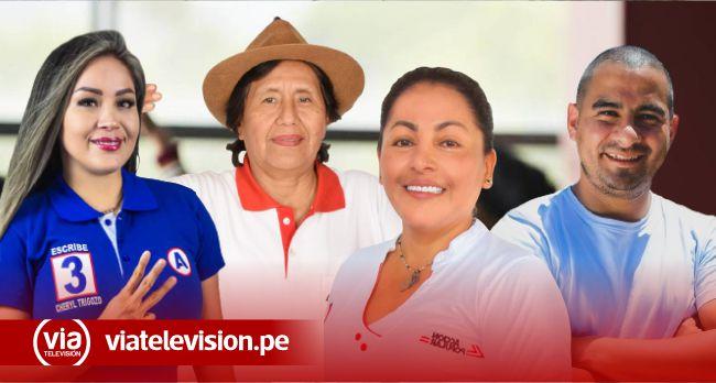 Cheryl Trigozo es la candidata con la mayor votación en San Martín