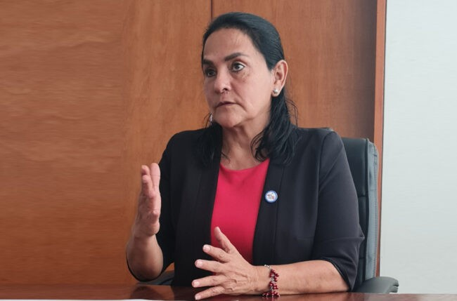 Congresista Robertina Santillana exige captura y máxima sanción para feminicida