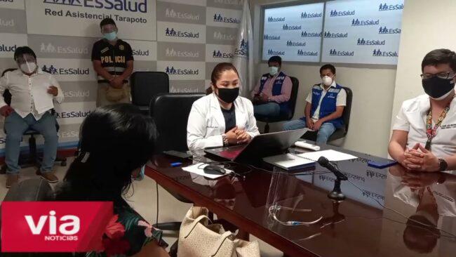 Congresista de Robertina Santillana se reúne con directora de Essalud
