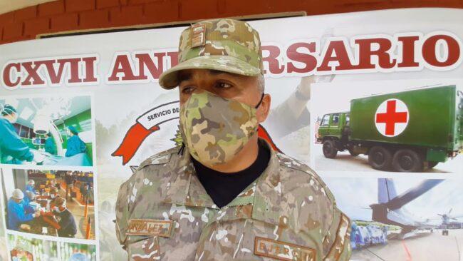 Morales: personal del ejército recibe primera dosis de pfizer