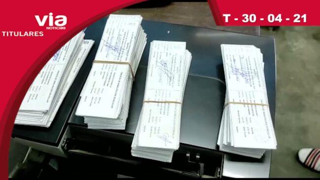 Titulares 30 de abril del 2021 – VIA Noticias Tarapoto