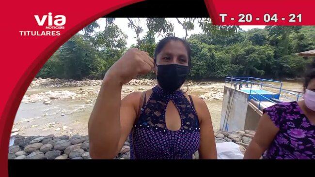 Titulares miércoles 21 de abril del 2021 – VIA Noticias de Tarapoto
