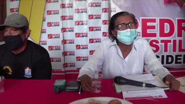 Virtual congresista Lucinda Vásquez asegura que es la representante de Perú Libre en la región