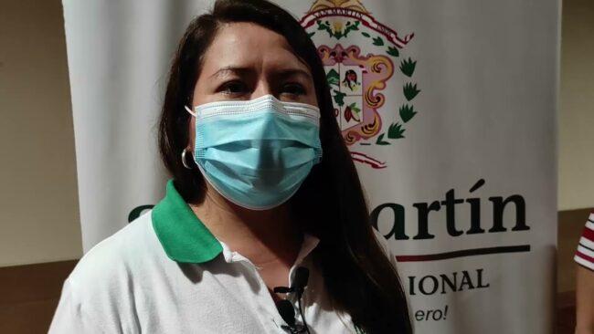 Directora regional de salud se pronuncia sobre el nivel extremo de contagio en Moyobamba