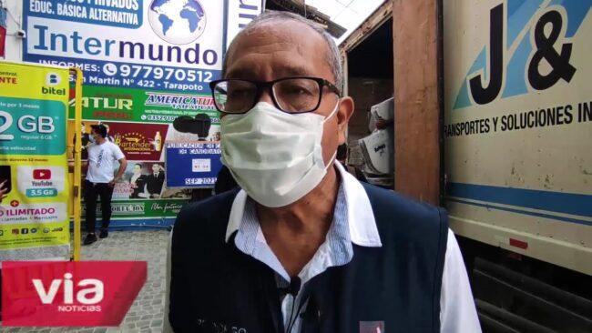 ODPE San Martín recibe material electoral para tres provincias