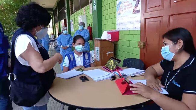 San Martín es una de las regiones que está cumpliendo metas en proceso de vacunación