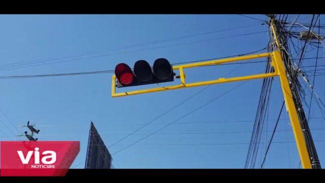 Tarapoto: implementan semáforos por múltiples accidentes de tránsito