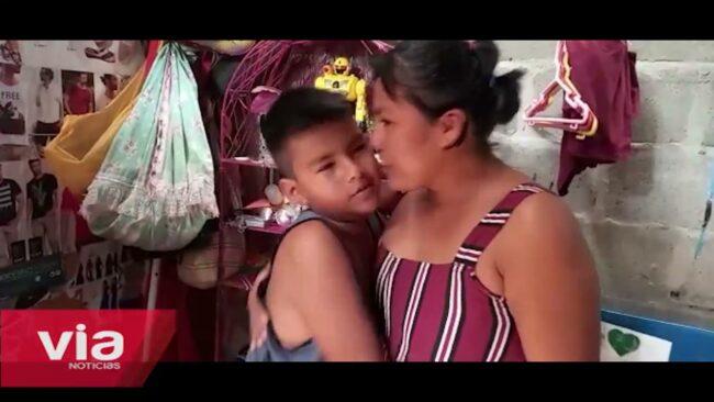Tarapoto: niño solicita apoyo para continuar con sus clases virtuales