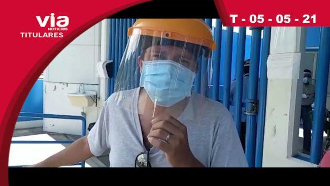 Titulares 06 jueves de mayo del 2021 – VIA Noticias Tarapoto