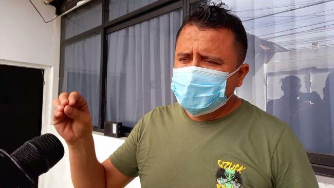 Alcalde de Bellavista Eduar Guevara  se pronuncia sobre pedido de vacancia