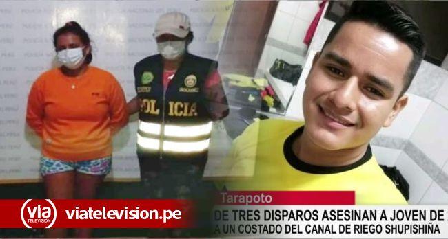 Detienen a joven involucrada en asesinato de árbitro en Santa Rosa de Cumbaza