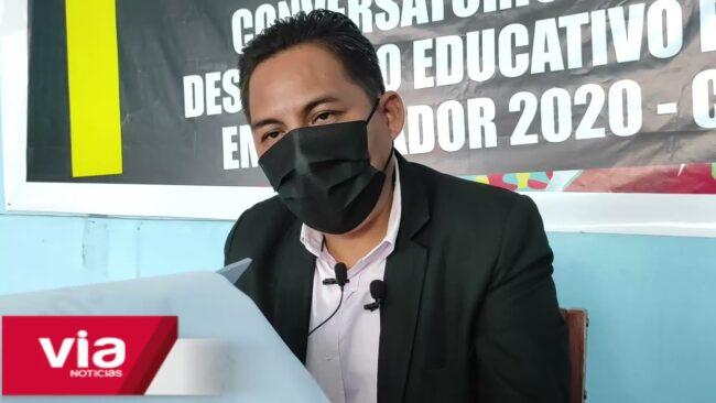 Dirigente del SUTEP denuncia que San Martín ocupa los últimos lugares en rendimiento escolar