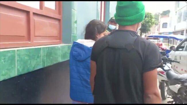 Intervienen a pareja de adolescentes cuando viajaban a Juanjuí huyendo de sus casas