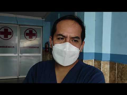 Mototaxista que perdió la pierna en accidente de tránsito se recupera en una clínica