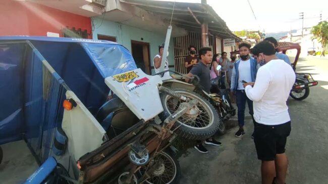 Mototaxista pierde la pierna izquierda en violento accidente de tránsito