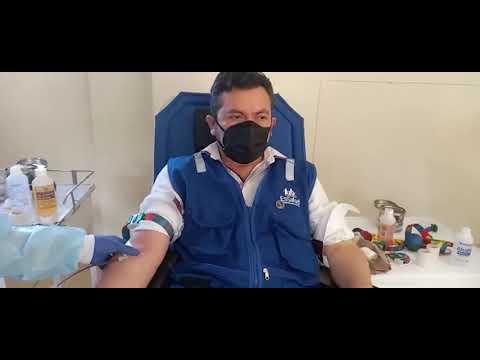 Realizan campaña de donación para recaudar 35 unidades de sangre