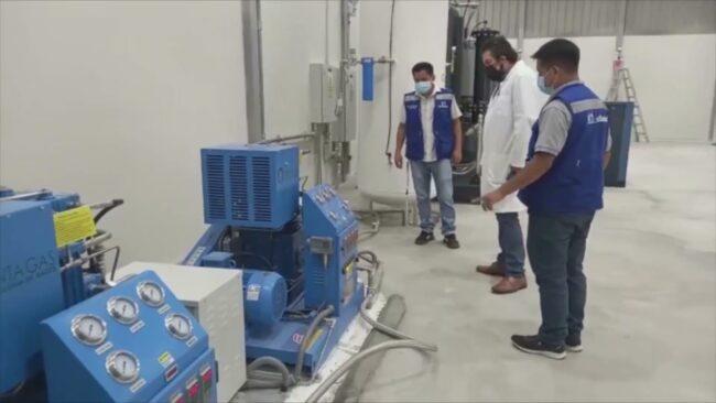 Segunda planta de oxígeno del hospital de Essalud ya está operativa