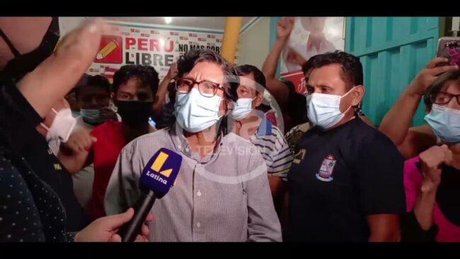 Simpatizantes de Perú Libre denunciaron probable fraude