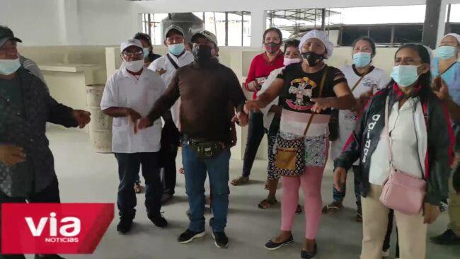 Tarapoto: administrador del mercado 3 señala que reubicación de vendedores es por seguridad
